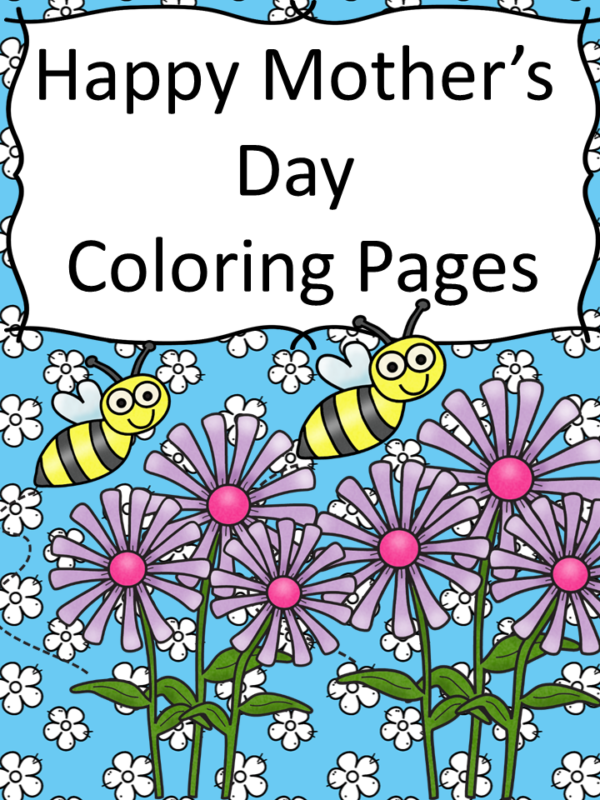 Free Printable Happy Mother's Day Coloring Pages