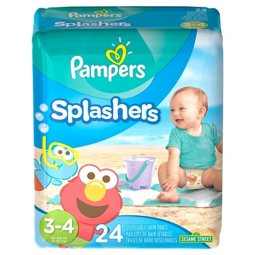 Walmart: Pampers Splashers Disposable Swim Pants just $5.72!