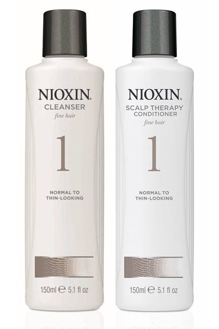 Free Nioxin Shampoo & Conditioner sample