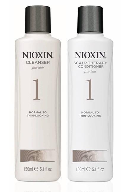 Free Nioxin Shampoo & Conditioner sample