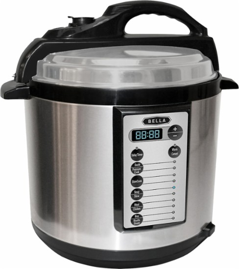Best Buy: Bella 6-Quart Pressure Cooker just $39.99, shipped!