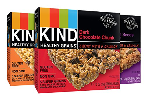Amazon.com: KIND Healthy Grains Granola Bars, Variety Pack just $0.53 per bar, shipped!