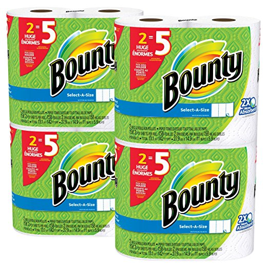 Amazon.com: Bounty Select-a-Size Paper Towels for just $0.70 per regular roll!