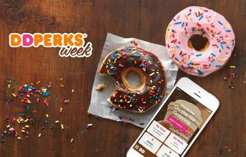 Dunkin' Donuts Perks Week: Five Days of Deals!