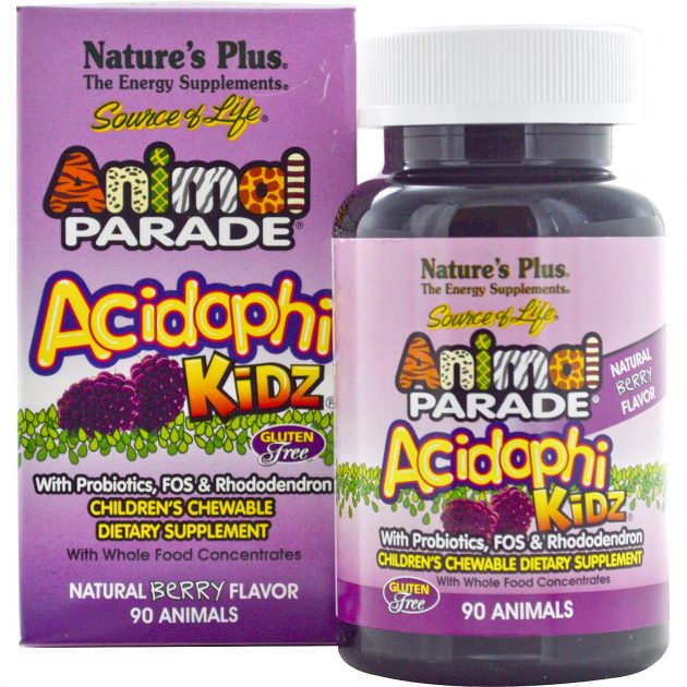 Free sample of Animal Parade AcidophiKidz Children's Chewables