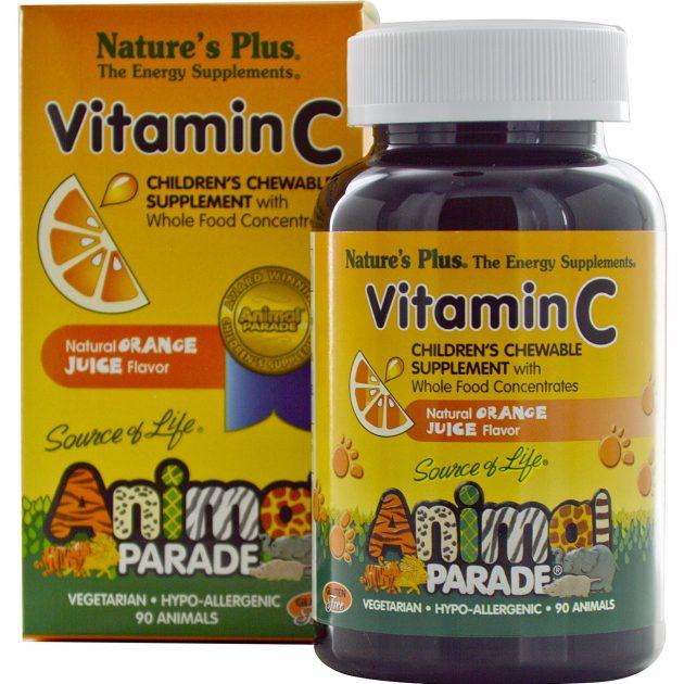 Free sample of Animal Parade Vitamin C Children's Chewables