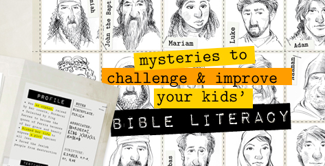 Free Printable Bible Detectives Adventure Kit