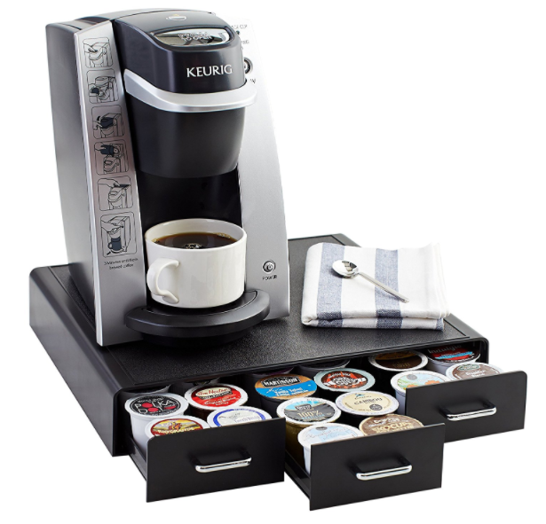 Get this AmazonBasics K-Cups Storage Drawer for just $10.97!