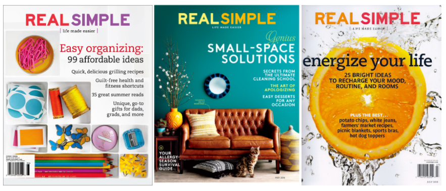 Free Real Simple magazine subscription!