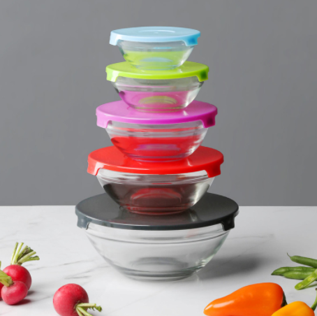 Hollar: Home Basics Glass Bowl Set for just $3!