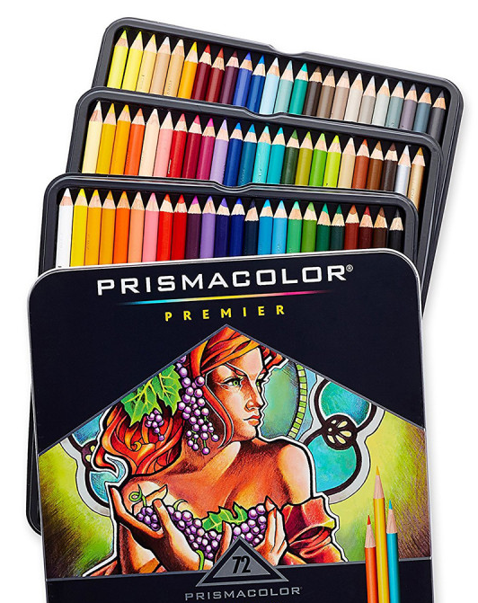 Prismacolor Colored Pencils, 72-Count for just $24 shipped!