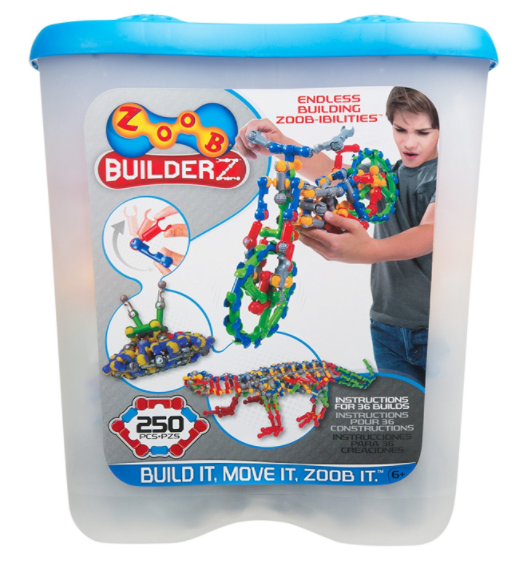 Amazon.com: ZOOB BuilderZ 250-Piece Kit for just $17.41!