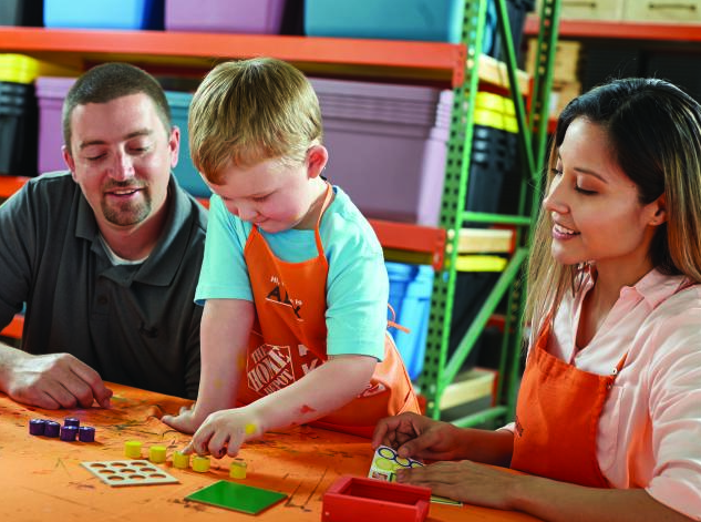 Free Kids Workshop at Home Depot on June 3, 2017