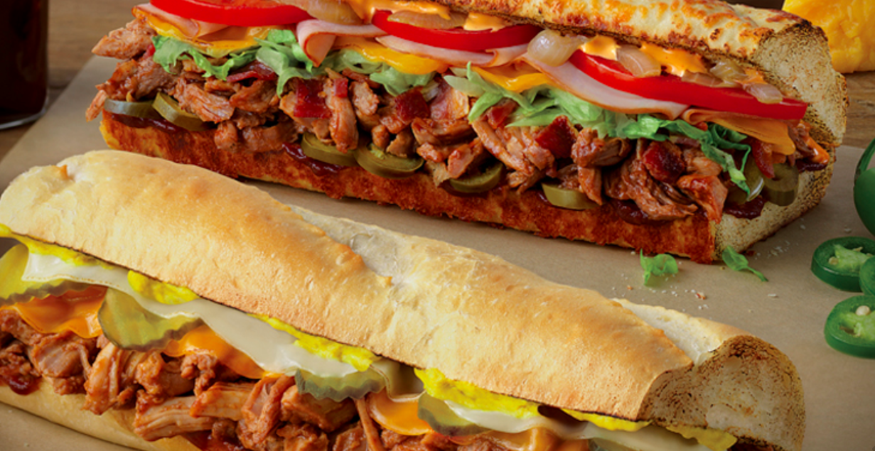 Quiznos: Buy One, Get One Free Pulled Pork Subs on May 16, 2017