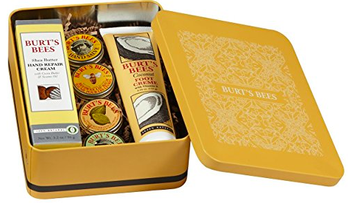 Amazon.com: Burt's Bees Classics Gift Set (6 Products in Giftable Tin) just $20!