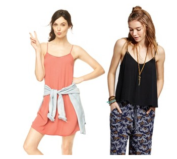 Target Cartwheel: 20% off Mossimo women's clothing