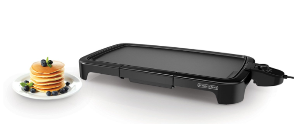 Amazon.com: Black+Decker Family Sized Electric Griddle for just $14.93!