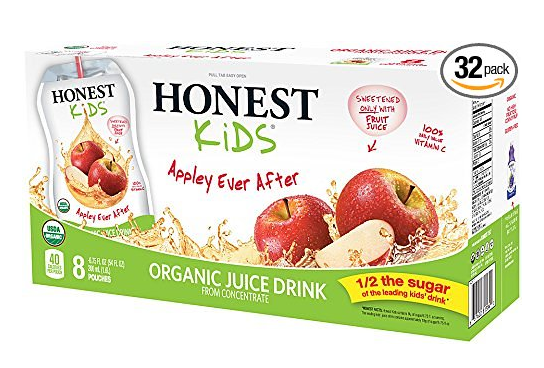 Amazon.com: Honest Kids Organic Juice Drinks, 32 Pouches for just $8.90 shipped!