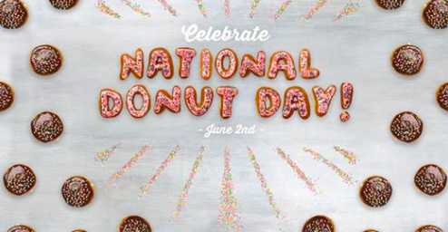 Dunkin Donuts: Free classic donut with beverage purchase on June 2, 2017