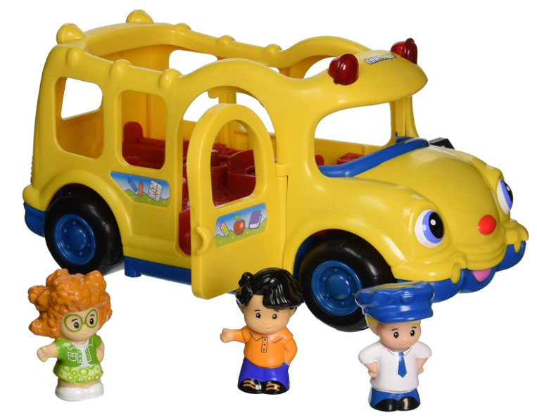 Get the Fisher-Price Little People Lil' Movers School Bus for just $9.84!
