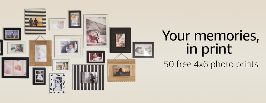 Amazon.com: Get 50 Free 4×6 Photo Prints + Free Shipping!