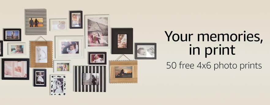 Amazon.com: Get 50 Free 4×6 Photo Prints + Free Shipping!