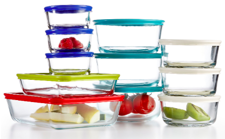 Macy's.com: Pyrex 22-Piece Food Storage Container Set only $24.99!