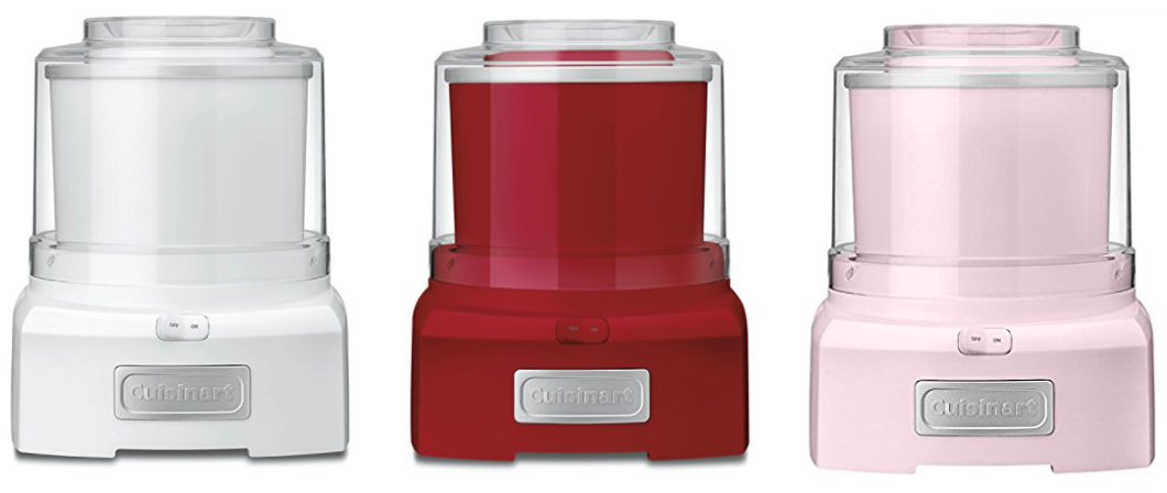 Amazon.com: Cuisinart Ice Cream Maker for just $41.99 shipped!