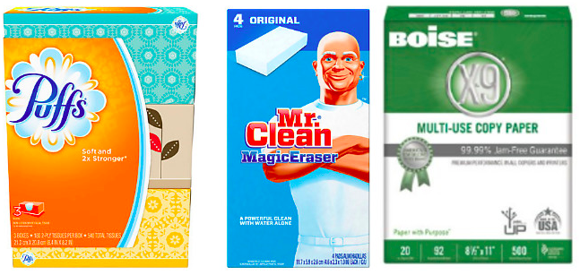 Office Depot/Office Max.com: Free Cleaning Supplies & Cheap Paper after Bonus Rewards!