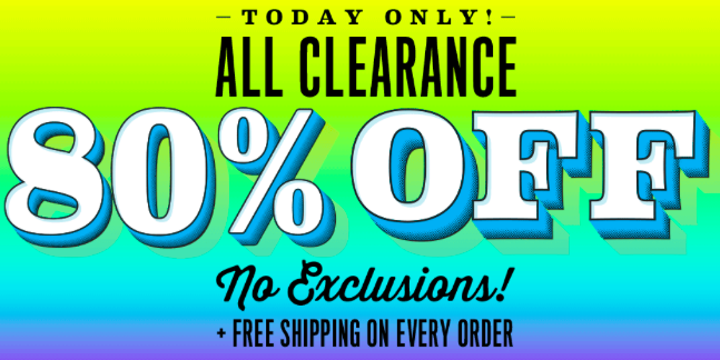 The Children's Place: 80% off All Clearance + Free Shipping!