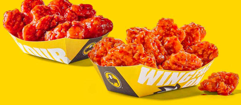 Buffalo Wild Wings: Buy one, get one free boneless wings today!