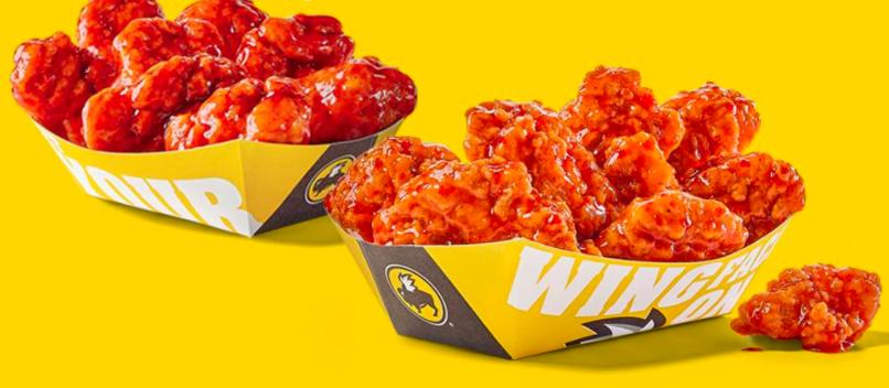Buffalo Wild Wings: Buy one, get one free boneless wings today!