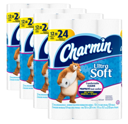Amazon.com: Charmin Ultra Soft Toilet Paper for just $0.42 per double roll!