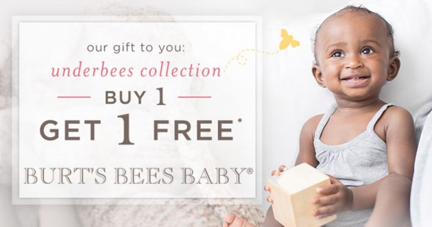 Burt's Bees Baby: Buy One, Get One Free Sale = Bodysuits, Diaper Covers and Tees just $2.49 each!