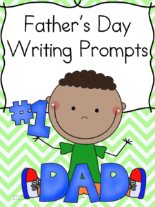Free Printable Father's Day Writing Prompts