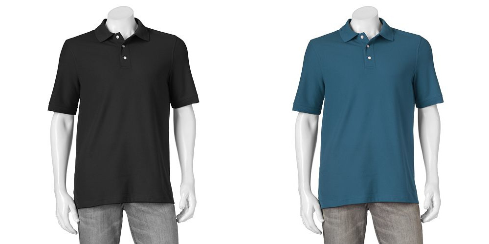 Kohl's: Get Men's Polo Shirts for just $5.66 each!
