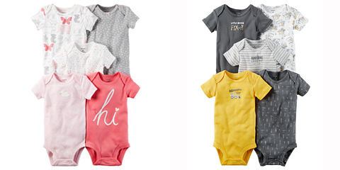 JCPenney.com: Carter's 5-pack Bodysuits + 4-pack Pajama Sets just $1.94 Per Piece!