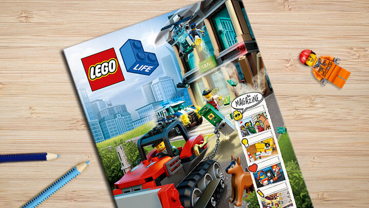 LEGO Life Magazine Stocking Stuffer