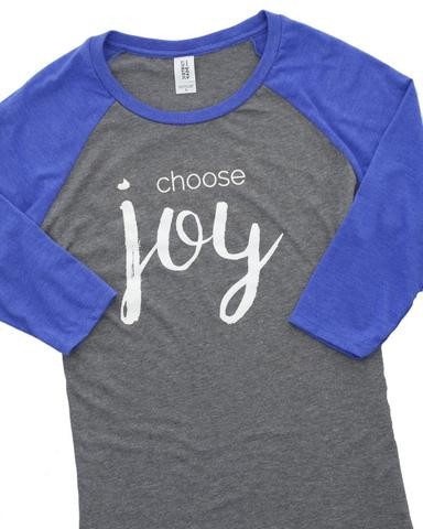 Choose Joy Raglan Tee