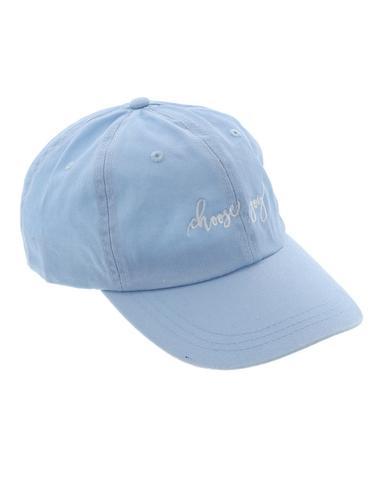 Choose Joy Embroidered Baseball Cap