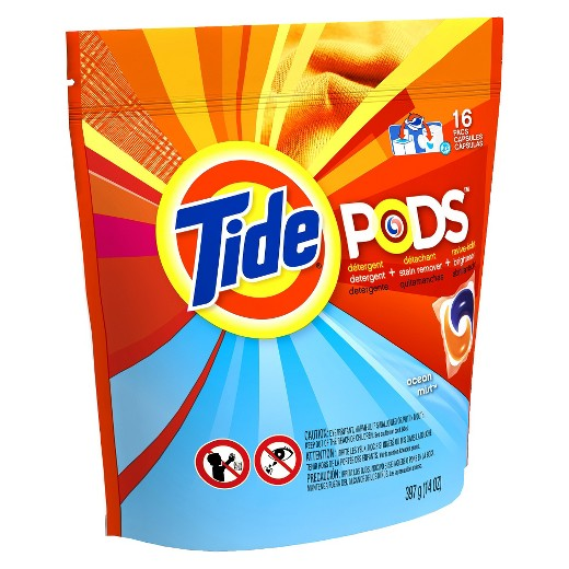 New $2/1 Tide PODS printable coupon = 12 to 16 count packs under $1 at Walmart & CVS!