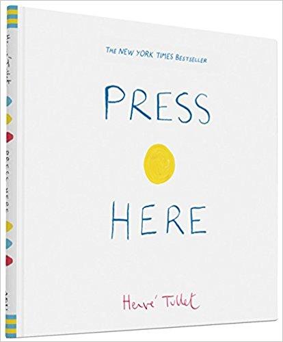 Amazon.com: Press Here Children's Hardcover Book just $6.84!