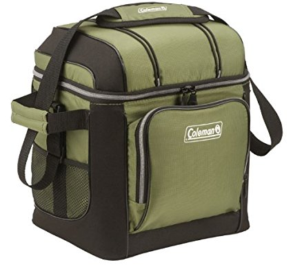 Amazon.com: Coleman 30-Can Soft Cooler with Hard Liner just $13.10!