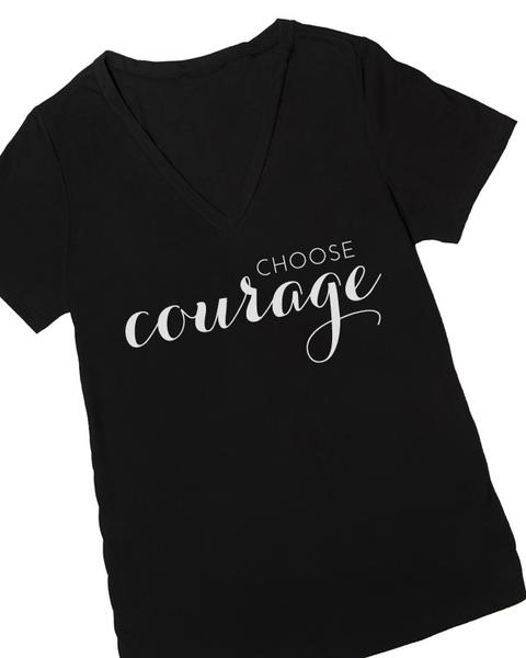 Choose Courage Graphic Tee