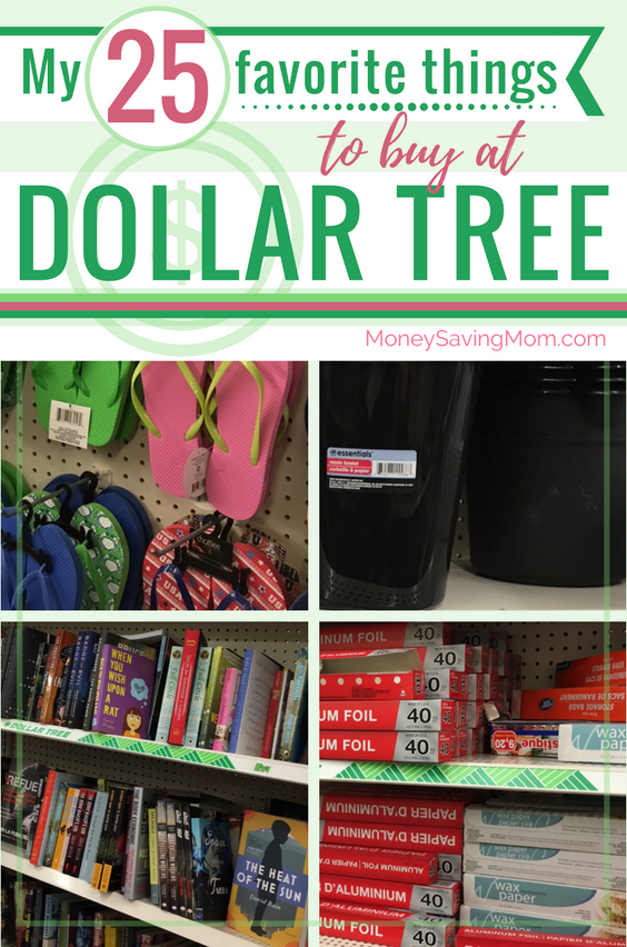Ever wondered which $1 items at Dollar Tree are actually great deals and worth buying? This list of things to buy at Dollar Tree is SO helpful!