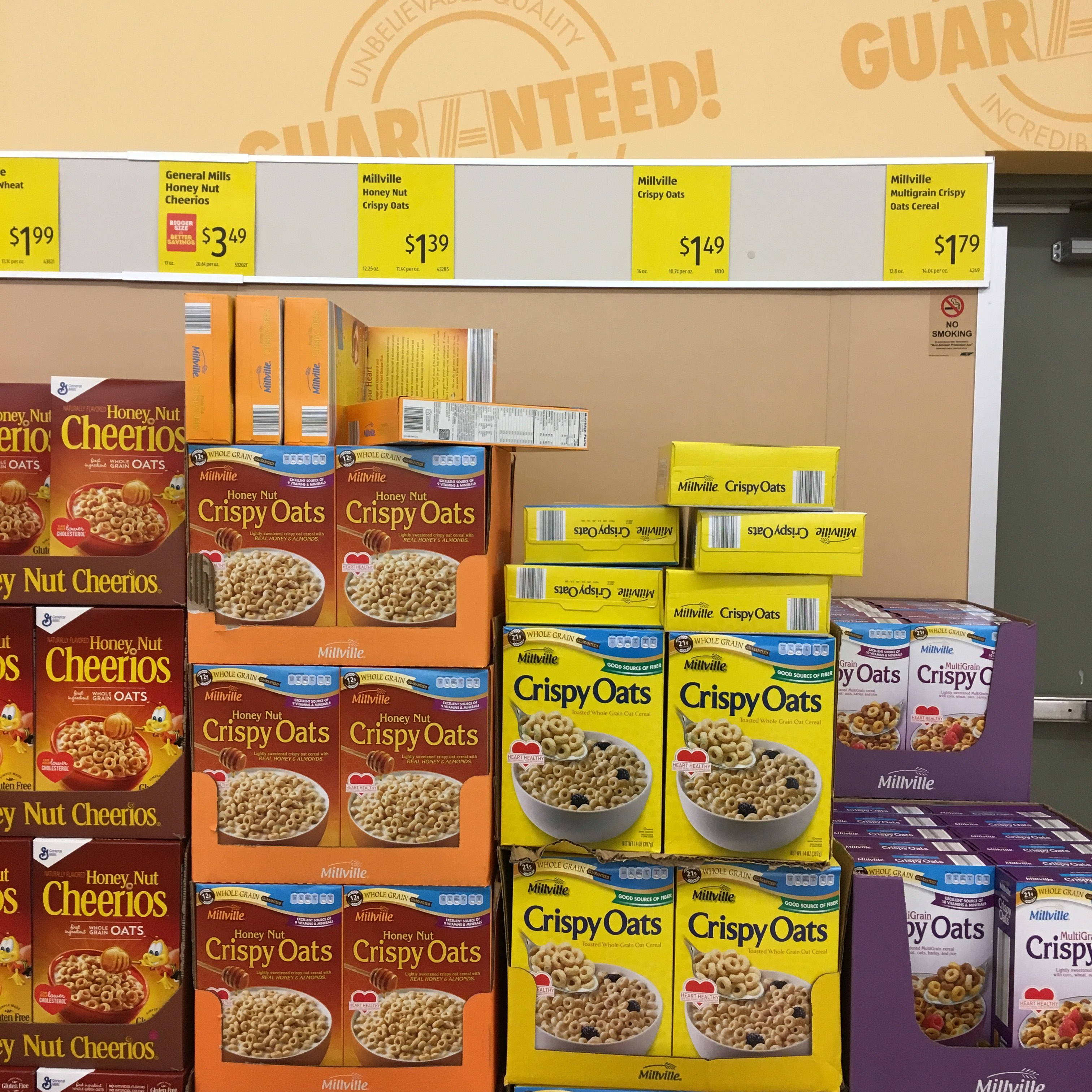 what to buy at aldi: cereal
