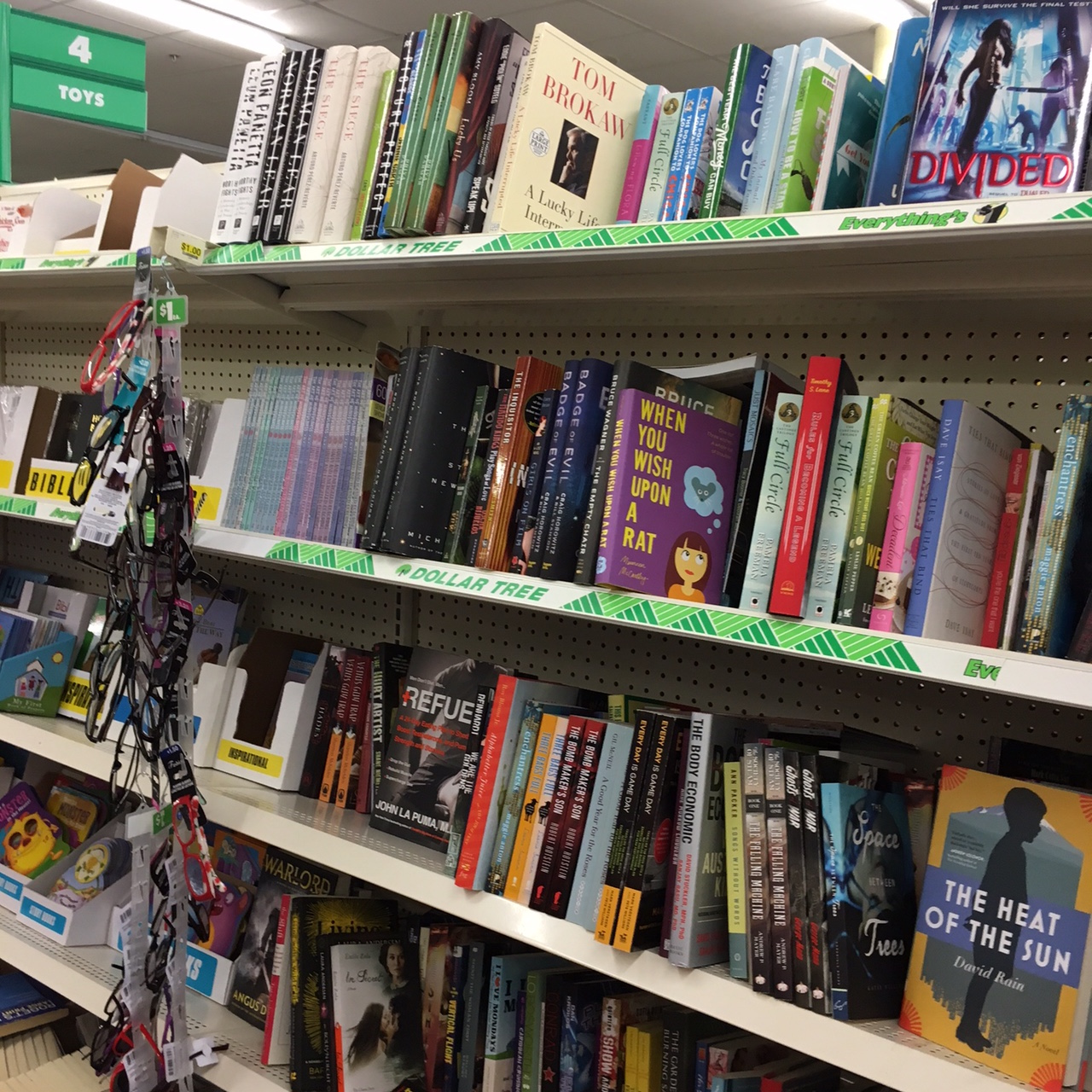 books at Dollar Tree
