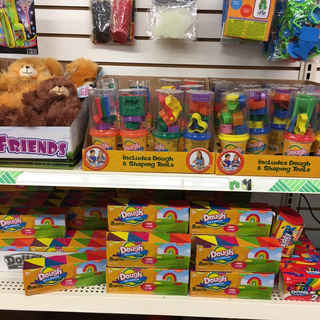 play-dough toys at Dollar Tree