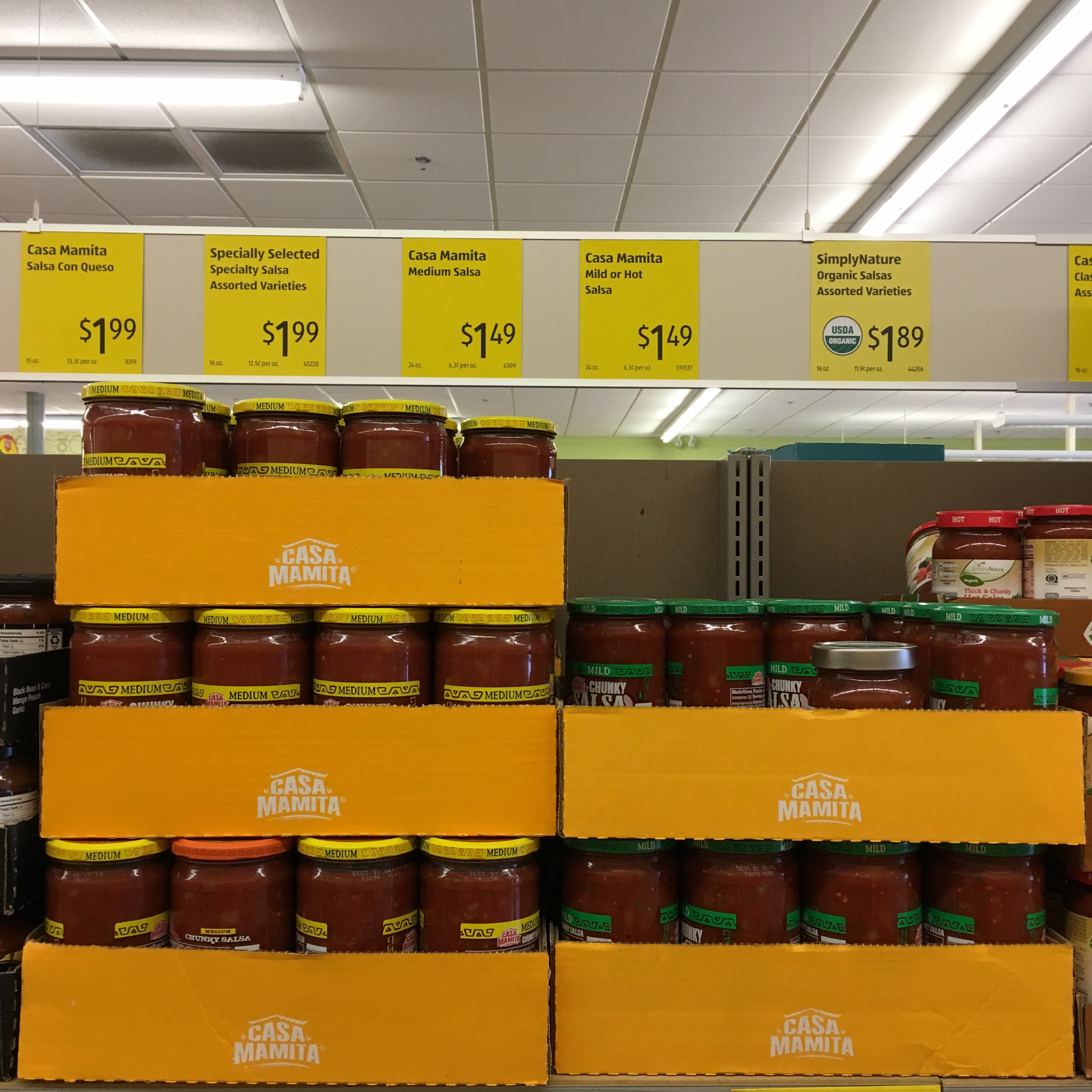 salsa at aldi