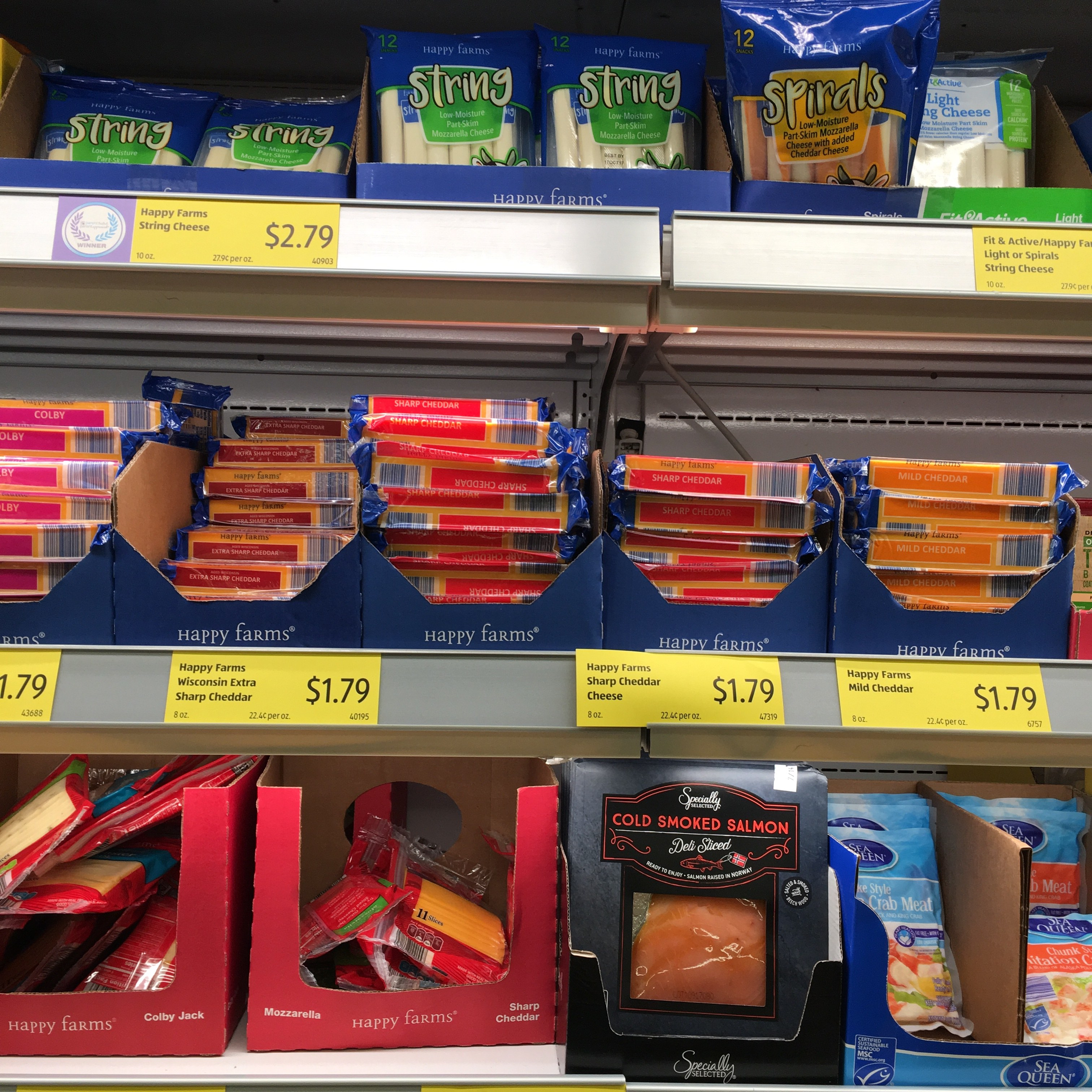 cheap cheese at aldi